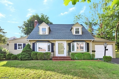 Millburn Twp. Single Family Home For Sale: 17 Haddonfield Rd