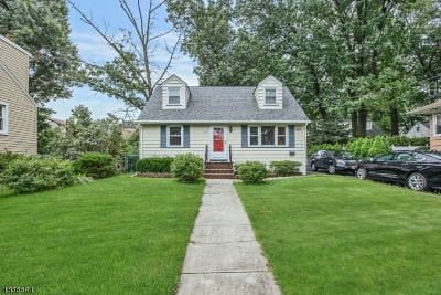 Nutley Twp. NJ Single Family Home For Sale: $345,000