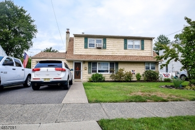 Totowa Boro Single Family Home For Sale: 156 Stewart Ter
