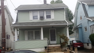 Paterson City Single Family Home For Sale: 222-224 Maryland Ave