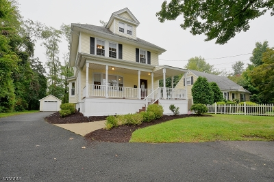 New Providence Single Family Home For Sale: 1700 Springfield Ave