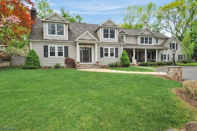 Berkeley Heights Single Family Home For Sale: 154 Fairview Ave