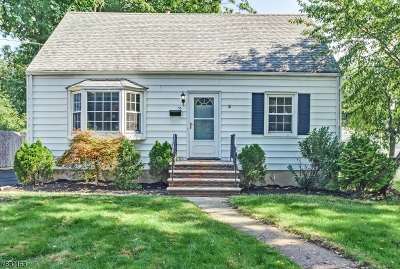 Fanwood Boro Single Family Home For Sale: 36 N Martine Ave