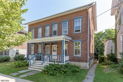 Flemington Boro Single Family Home For Sale: 44 Spring St