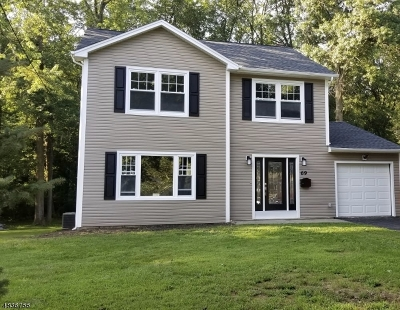 Florham Park Boro Single Family Home For Sale: 69 Beechwood Rd