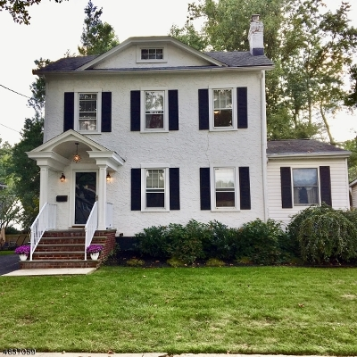 Scotch Plains Twp. Single Family Home For Sale: 432 William St