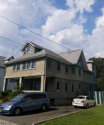Passaic City Multi Family Home For Sale: 348-350 Van Houten