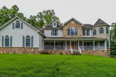 Delaware Twp. Single Family Home For Sale: 27 Pine Hill Rd