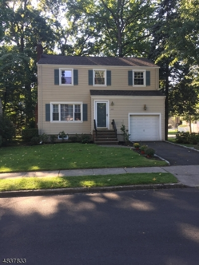 Cranford Twp. Single Family Home For Sale: 333 Manor Ave