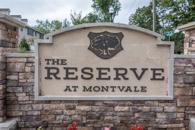Montvale Boro Condo/Townhouse For Sale: 28 Autumn Way #28
