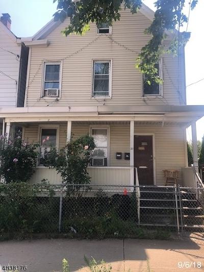 Passaic City Multi Family Home For Sale: 37 Jefferson St