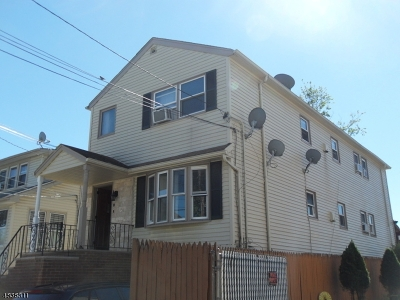 Paterson City Multi Family Home For Sale: 306 Paxton St