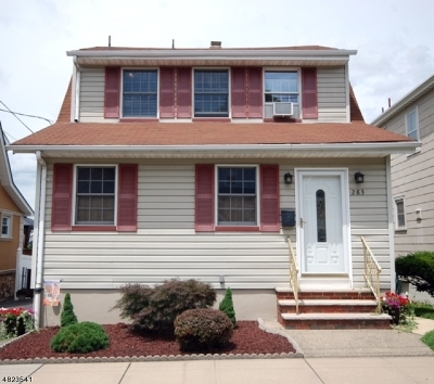 Totowa Boro Single Family Home For Sale: 283 Dewey Ave