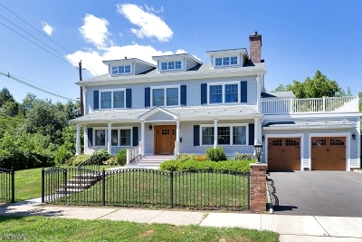 Westfield Town NJ Single Family Home For Sale: $1,299,000