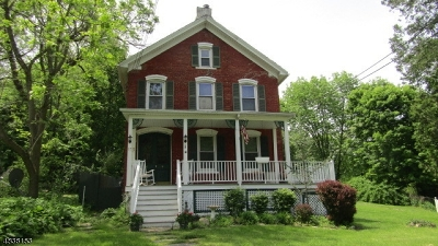 Lafayette Twp. Single Family Home For Sale: 17 Beaver Run Rd