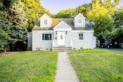 North Haledon Boro Single Family Home For Sale: 20 Overlook Ave