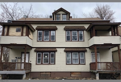 Paterson City Multi Family Home For Sale: 10-12 N Bridge St