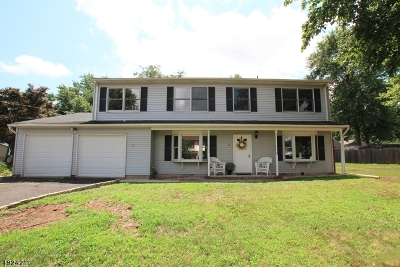 Franklin Twp. Single Family Home For Sale: 33 Fort St