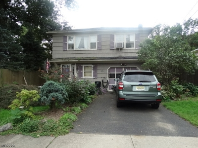 Scotch Plains Twp. Single Family Home For Sale: 190 Harding Rd