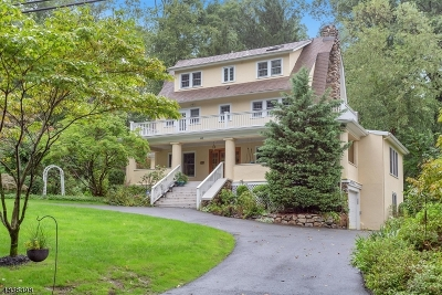 Mountain Lakes Boro Single Family Home For Sale: 145 Morris Ave