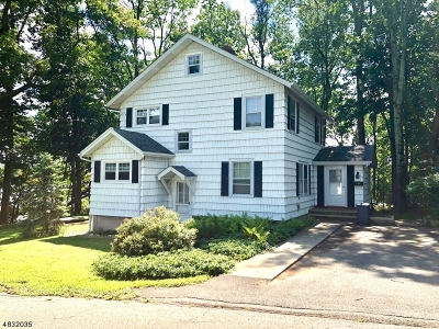 Boonton Town Single Family Home For Sale: 213 Reservoir Dr