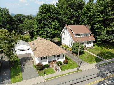 Rockaway Boro Single Family Home For Sale: 250 E Main St