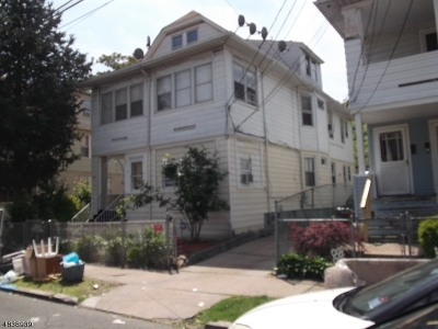 Paterson City Multi Family Home For Sale: 32-34 19th Ave