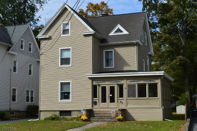 Madison Boro Single Family Home For Sale: 86 Central Avenue
