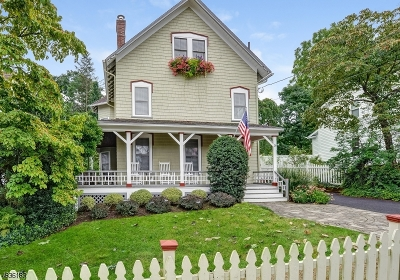 Madison Single Family Home For Sale: 38 Green Ave