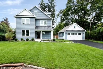 Bernardsville Boro NJ Single Family Home For Sale: $874,000