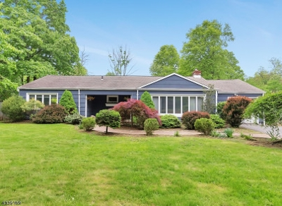 Bernards Twp. NJ Single Family Home For Sale: $525,000
