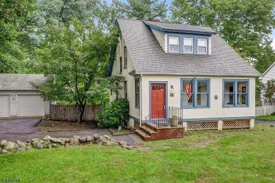 Morris Plains Boro Single Family Home For Sale: 90 Littleton Rd