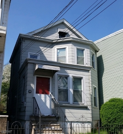 Paterson City Single Family Home For Sale: 109 Redwood Ave