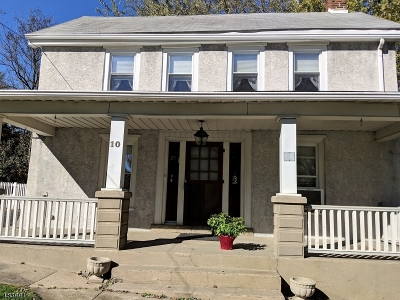 Franklin Twp. Single Family Home For Sale: 10 Stewartsville Rd