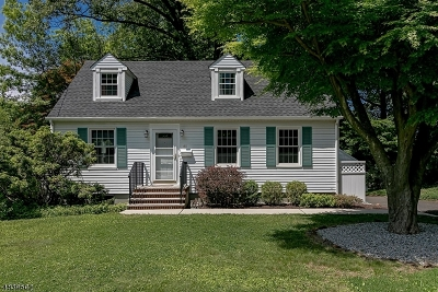 Berkeley Heights Twp. Single Family Home For Sale: 60 Beech Ave