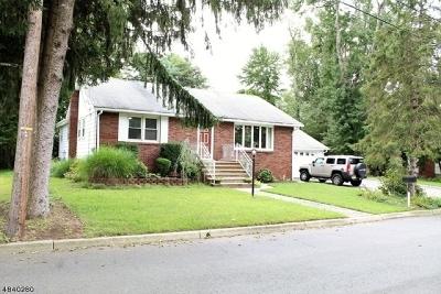Wayne Twp. Single Family Home For Sale: 29 James Street