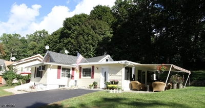 Sparta Twp. Single Family Home For Sale: 61 Hillside Rd