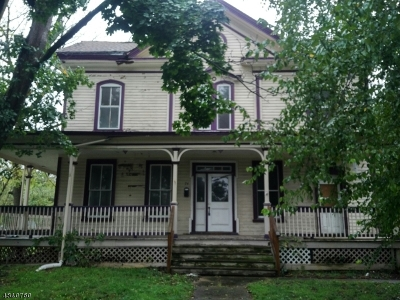Hunterdon County Multi Family Home For Sale: 72-74 West Main Street
