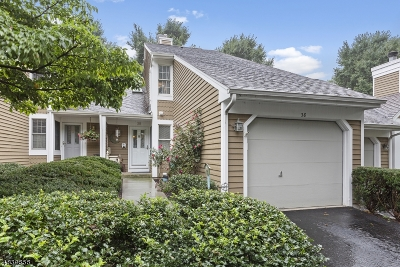Bedminster Twp. Condo/Townhouse For Sale: 38 Stone Run Rd