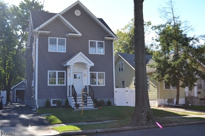 Cranford Twp. Single Family Home For Sale: 137 Hillcrest Ave