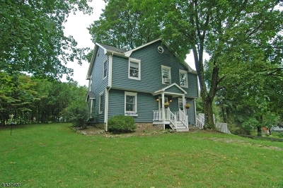 Califon Boro Single Family Home For Sale: 100 Main St