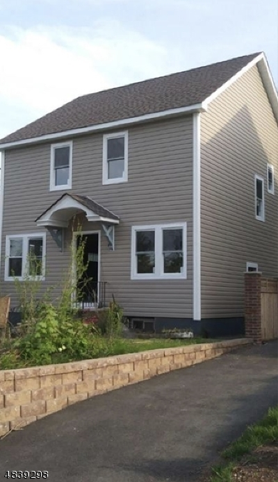 Paterson City Single Family Home Active Under Contract: 242-244 8th Ave
