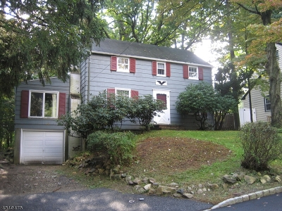 Morristown Single Family Home For Sale: 34 Hillcrest Ave
