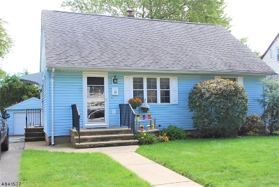 Totowa Boro Single Family Home For Sale: 19 Highview Ave
