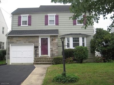 Roselle Park Boro Single Family Home For Sale: 512 E Grant Ave