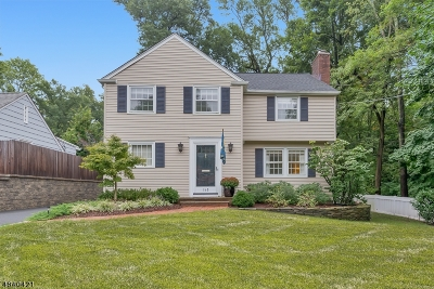 Summit Single Family Home For Sale: 145 Colonial Rd