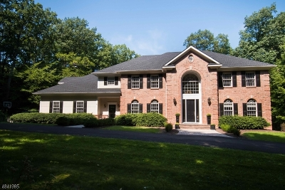 Tewksbury Twp. NJ Single Family Home For Sale: $899,000