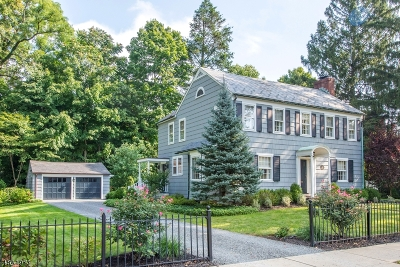 Morristown Town Single Family Home Sold: 50 Washington Ave