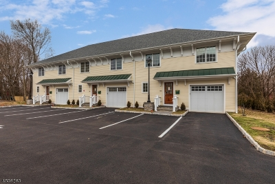 Mendham Boro Condo/Townhouse For Sale: 15 W Main