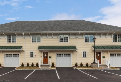 Mendham Boro NJ Condo/Townhouse For Sale: $679,500